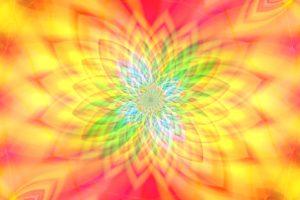 Abstrakt Mandala